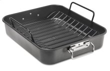 """16"""" Aluminized Steel Roaster with Rack - Other"""