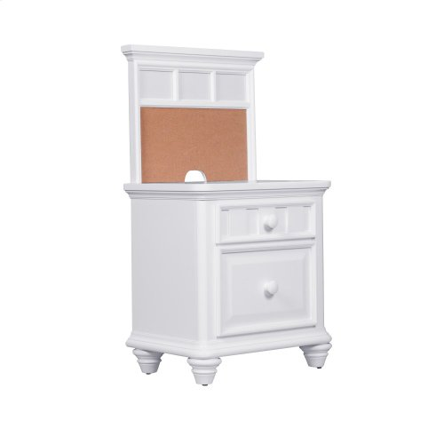 Zoe Nighstand Back Panel