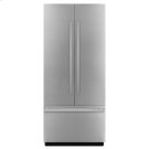 "NOIR 36"" Fully Integrated Built-In French Door Refrigerator Panel-Kit Product Image"