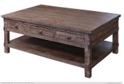 Cocktail Table w/6 drawers Product Image