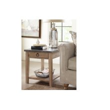 Monteverdi by Rachael Ray Metal Top End Table