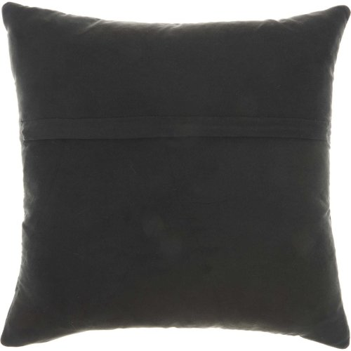 """Couture Nat Hide Pd031 Black 20"""" X 20"""" Throw Pillows"""