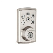 Kwikset SmartCode 888 Touchpad Electronic Deadbolt (for Works with Ring Alarm Security System) - Satin Nickel