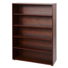 5 Shelf Bookcase : Chestnut