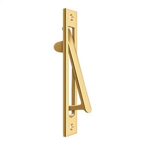 "Edge Pull HD, 6 1/4"" x 1 1/4"" - PVD Polished Brass Product Image"