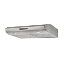"""36"""" Stainless Steel XOE SS - Performance Collection - Undercabinet Hood"""
