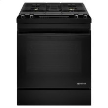 "Jenn-Air® Euro-Style 30"" Dual-Fuel Downdraft Range - Black"