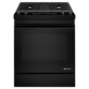"Jenn-AirJenn-Air(R) Euro-Style 30"" Dual-Fuel Downdraft Range - Black"