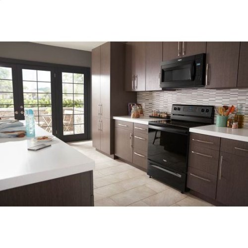 Whirlpool® 1.7 cu. ft. Microwave Hood Combination with Electronic Touch Controls - Black