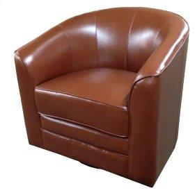 Emerald Home Milo Swivel Chair Reddish Brown U5029c-04-15