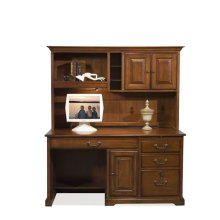 Cantata Storage Hutch Burnished Cherry finish