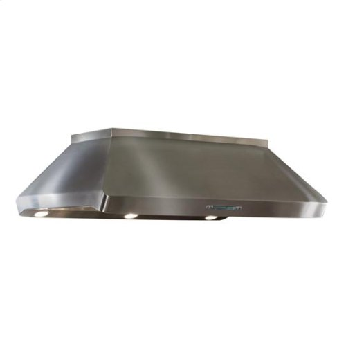 "Centro Island - 42"" x 32"" Stainless Steel Island Range Hood with internal/external blower options"