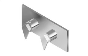 Stealth M-Series Valve Horizontal Trim with Two Handles