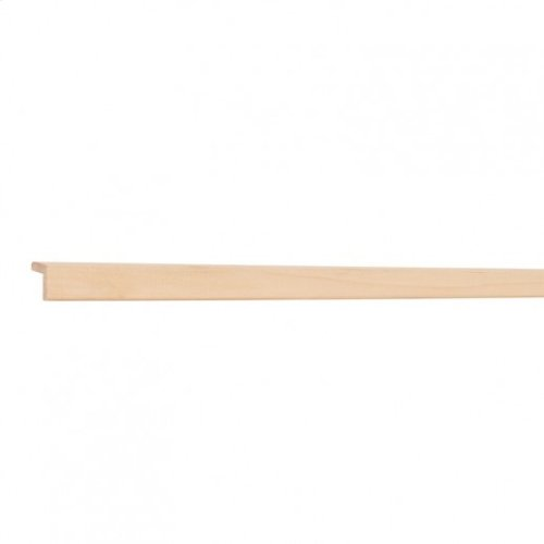 """3/4"""" X 3/4"""" Outside Corner Moulding In Hard Maple Priced by the linear foot and sold in 8' sticks in cartons of 120'."""