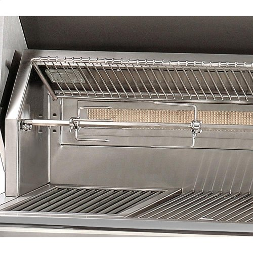 "56"" Standard Grill on Refrigerated Base Side Burner"