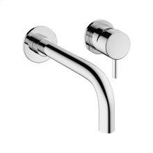 MPRO Single-lever Wall-mount Lavatory Faucet Trim - Polished Chrome