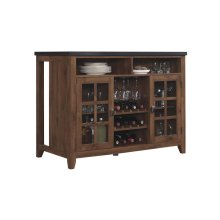The Host kitchen island allows for functional storage and organization whil...