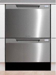 EZKleen Stainless Steel Double-Tall Dishwashing