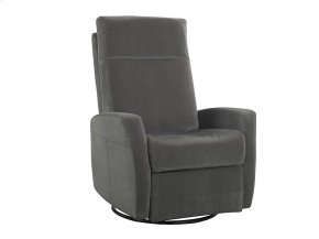 Emerald Home Garrett Swivel Glider Lena Grey U5074-04-03