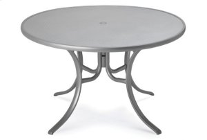 """48"""" Round Dining Table w/ hole"""