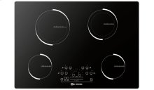 "Black Glass 30"" 4 - Zone Induction"