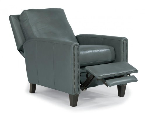 Reuben Leather or Fabric Power High-Leg Recliner