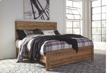 Cinrey - Medium Brown 4 Piece Bed Set (King)