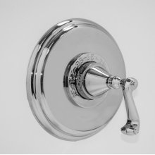 """1/2"""" Thermostatic Shower Set with Charlotte Handle (available as trim only P/N: 1.000496.V0T)"""