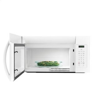 [SCRATCH 'N' DENT] Frigidaire 1.6 Cu. Ft. Over-The-Range Microwave. Clearance stock is sold on a first-come, first-served basis. Please call (717)299-5641 for product condition and availability.