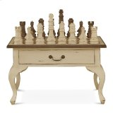 Gentleman's Chess Table 2 Drawer w/ Chess Set Product Image