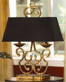 Charleston Twin Light Lamp