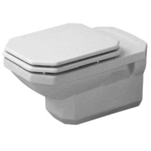 White 1930 Toilet Wall-mounted