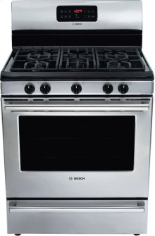 "30"" Gas Freestanding Range 500 Series - Stainless Steel HGS5053UC"