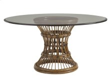 Latitude Dining Table With Glass Top 54 Inch