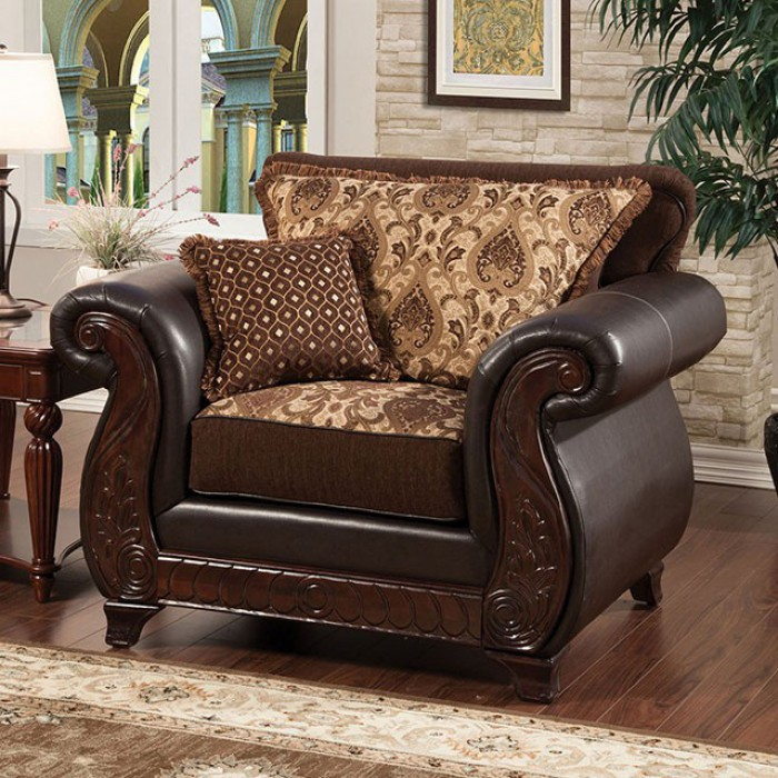 & SM6106NCH in by Furniture of America in Victorville CA - Franklin Chair