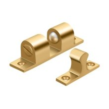 """Ball Tension Catch 3"""" x 3/4"""" - PVD Polished Brass"""