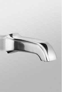 Brushed Nickel Guinevere® Wall Spout