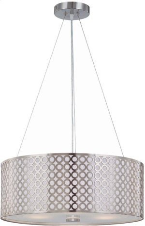 Ceiling Lamp, Ps/metal Cut-out Shd W/liner, E27 A 60wx3