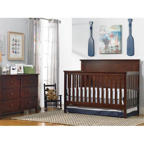 Fisher-Price Lucas Convertible Crib, Light Espresso