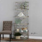 Lashaya Etagere, Silver Product Image