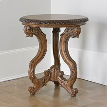 Tri Leg Accent Table