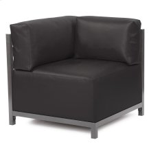 Axis Corner Chair Atlantis Black Titanium Frame