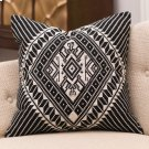 Hill Tribe Pillow-Black/White Product Image