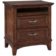 Star Valley Two Drawer Nightstand Product Image