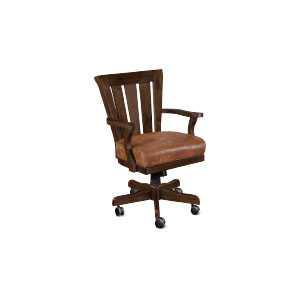 Santa Fe Game Chair W/ Casters, Cushion Seat