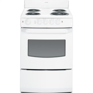 """HotpointHotpoint(R) 24"""" Electric Free-Standing Range"""