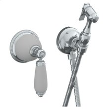 Wall Mounted Bidet Spray Set (available With Ferrara White or Cordoba Black Marble)