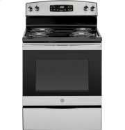 "GE® 30"" Free-Standing Self-Clean Electric Range Product Image"