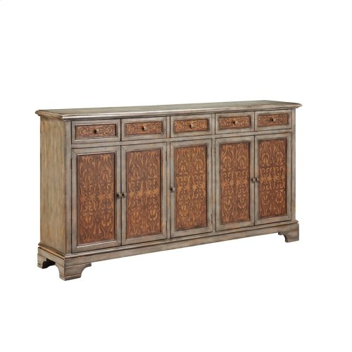 Cyrus 5-door 5-drawer Sideboard