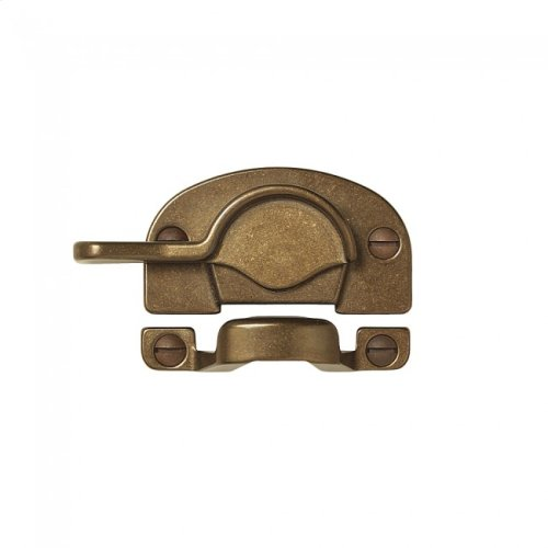 Double-Hung Sash Lock - WD130 White Bronze Brushed